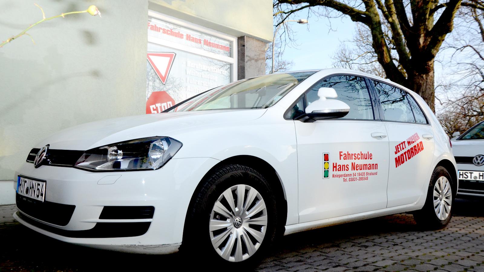 Fahrschule Neumann Fahrzeuge